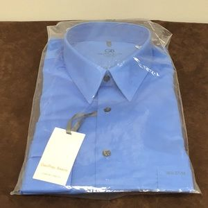 Geoffrey Beene Blue Long Sleeves Shirt